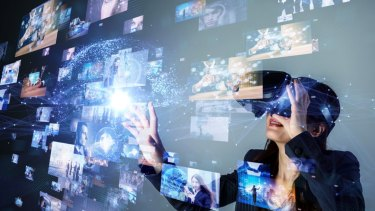 Explore infinite dimensions with augmented reality entertainment.