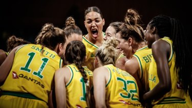 Cambage is a towering figure for the Opals.
