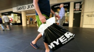 Australia's big department stores won't survive the next decade, some experts say.