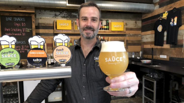 Mike Clarke's Sauce Brewery will be open on Thursday afternoon.