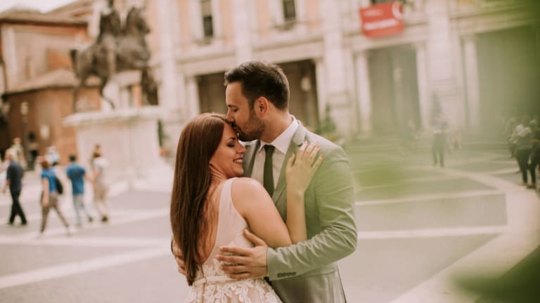 Research says 80 per cent of married couples tend to still be together after 10 years. The number drops to 60 per cent for those in de facto relationships.