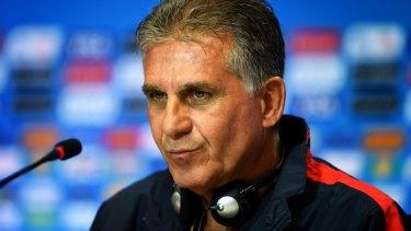 Tactical genius: Iran's Portuguese coach Carlos Queiroz.