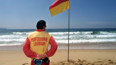 Sunshine Coast lifeguards are advising beachgoers to stay close to the shore and swim between the flags.