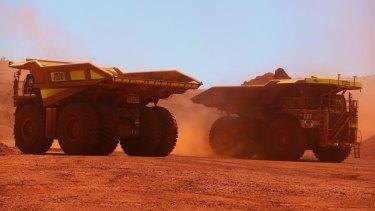 Fortescue Metals Group's Solomon mine.