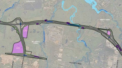 Properties to be acquired for $1.8b motorway to new Sydney airport