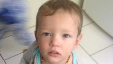 Mason Lee's mother failed to get medical treatment after her partner ruptured her son's stomach.