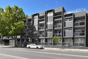 The Seddon apartment block at the centre of a stoush between Maribynong Council and the Victorian government.