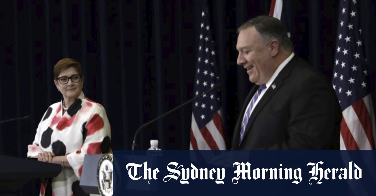 'We make our own decisions': Australia-US vow to counter China at AUSMIN talks – Sydney Morning Herald