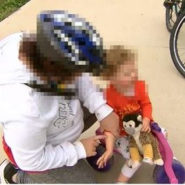 Mother describes 'scary' moment stranger grabbed her toddler