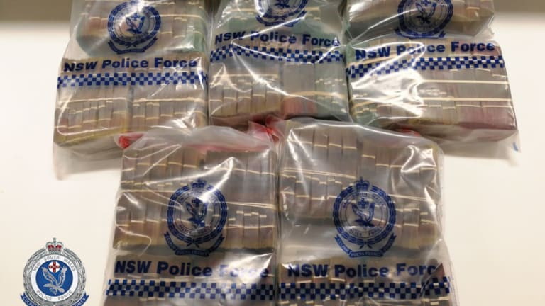 Police will allege the pair were on a possible cash run between Melbourne and Sydney when they were caught.