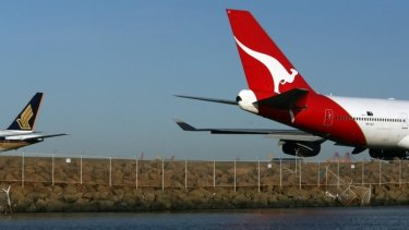 Qantas' earnings from domestic operations jumped by 25 per cent