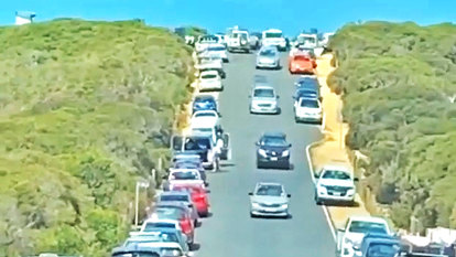 'It's never been this busy ever': Peninsula businessman slams 'selfish' tourists