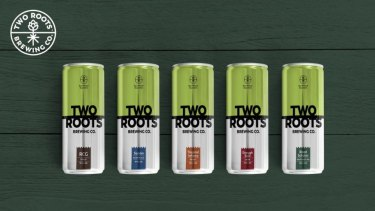 Two Roots beer.