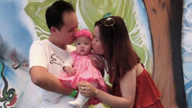 Isabella Lee Pin Loong lives in Melbourne Immigration Transit Accommodation with her mother Huyen Tran.