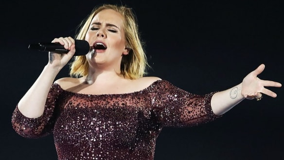 Adele's voice got lower in pregnancy. That's common, says new study