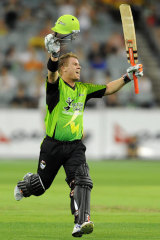 David Warner has had a spell from the BBL.