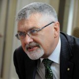 Peter Shergold, a former head of the Prime Minister's Department, is leading the review into the future of vocational education with UNSW chancellor David Gonski