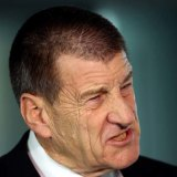 """Jeff Kennett was, you might say, """"mad as hell'' and """"not going to take it any more''."""