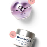 Tatcha The Pearl Tinted Eye Illuminating Treatment, $70. Ella Baché Eye and Lip Cleanser, $45.