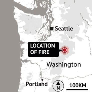 Where the incident occurred in the Pacific Northwest of the US.