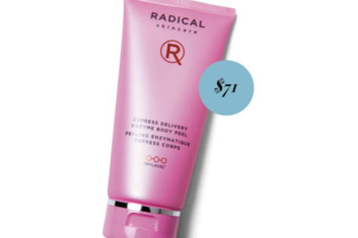Radical Skincare Express Delivery Enzyme Body Peel, $71.
