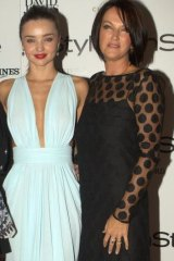 Miranda Kerr with her mother Therese, a self-proclaimed wellness visionary.