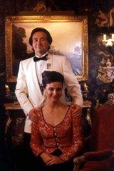 "Lorenzo Montesini and his ill-fated bride Primrose ""Pitty Pat"" Dunlop."