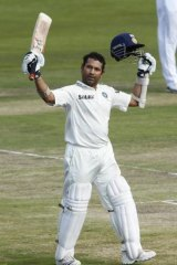 Indian legend Sachin Tendulkar.