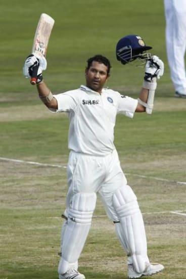 Indian legend Sachin Tendulkar.