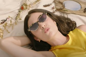 A still from Lorde's new video Solar Power.