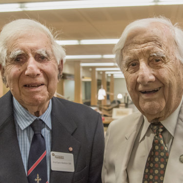 Dr Mellick and his cousin Stanton Mellick were long-time supporters of the Queensland State Library.