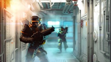 Microsoft gained control of major gaming titles like Wolfenstein weeks before the release of the new Xbox.