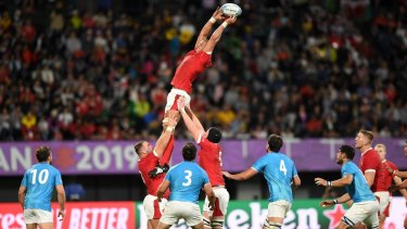 Wales has defeated Uruguay in their Pool D match at Kumamoto.