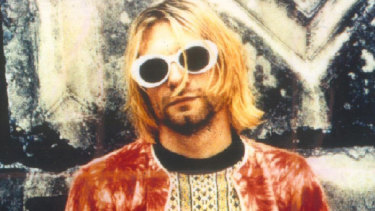 """Kurt Cobain, lead singer of Nirvana, was branded """"voice of a generation"""" - for the younger cohort of Generation X."""