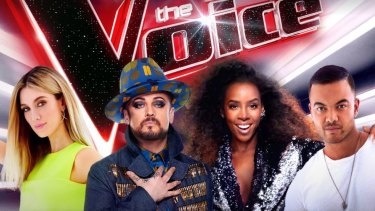 Goodrem, Boy George, Rowland and Sebastian will battle it out alongside contestants in this year's season of The Voice.