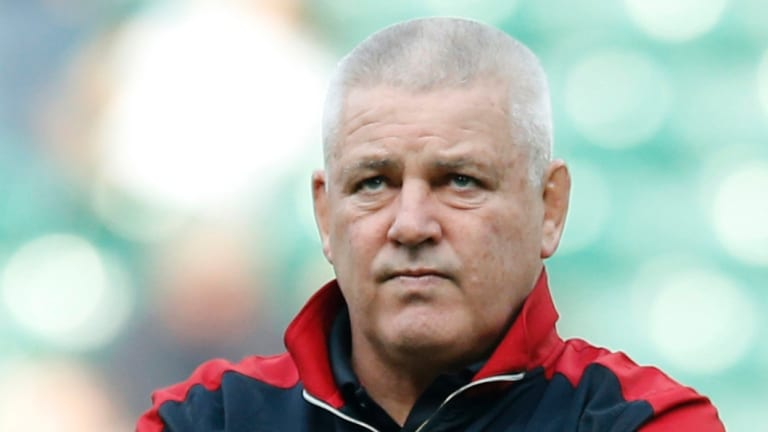 Pressure: Warren Gatland says it is Australia with a point to prove despite his Wales side being winless in 13 matches against the Wallabies.