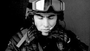Former Special Operations Group Officer Dean McGrath.
