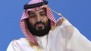 Saudi Arabia's Crown Prince Mohammed bin Salman.