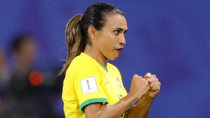 Brazil legend Marta tests positive for COVID-19, withdrawn from squad