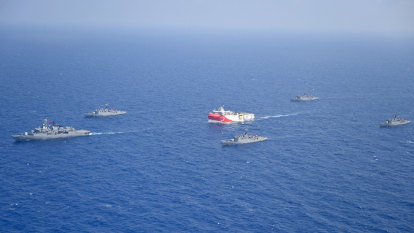 France to patrol the Med as Turkey and Greece bicker over oil and gas