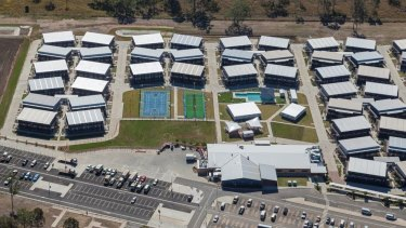 The Homeground facility, 20 minutes from Gladstone in central Queensland, is being considered as a quarantine site.