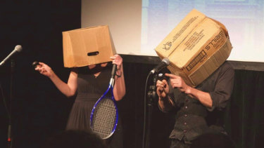 A moment from 'Inconvenient Empathy', to be performed at the Melbourne Fringe Festival