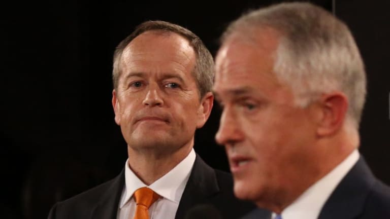 """Malcolm Turnbull attacked Bill Shorten for being closer to """"billionaires"""". than any other unionist."""