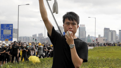 Meet the politician (and romance author) dubbed 'God' by Hong Kong's young protesters