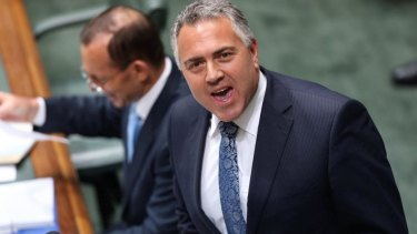 Former treasurer Joe Hockey.
