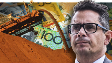WA Treasurer Ben Wyatt has delivered a budget awash in iron ore cash.