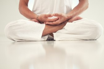 The early yoga scriptures were interested in physical postures only insofar as they aided meditation and breathing.