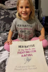 Her battle is my battle too. Rachel's children don't understand why she can't get the operation she needs.