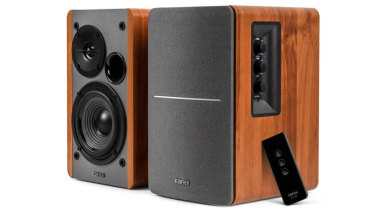 Edifier's R1280T is a simple but very well performing set of active bookshelf speakers.