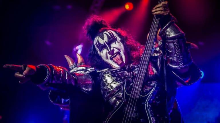 Kiss frontman Gene Simmons.